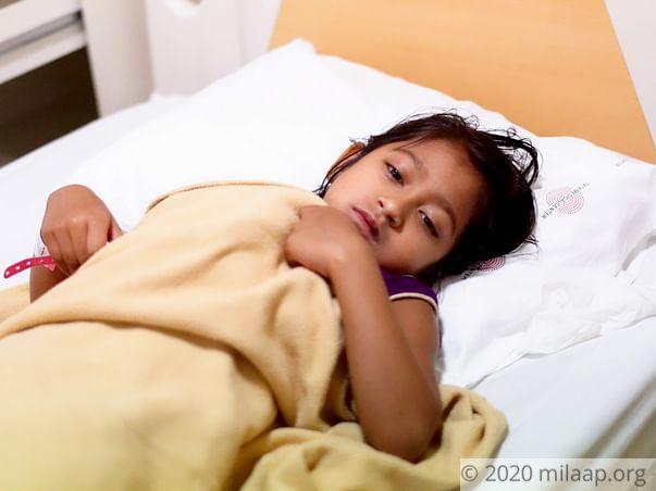 Help Dhatitri Ghosh to undergo her treatment