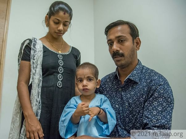 Baby Sananth KA needs your help to survive