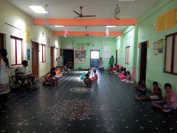 Help Hari To Save Handicapped Children