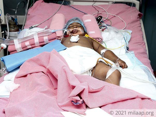 Eshitha needs your help to undergo her treatment
