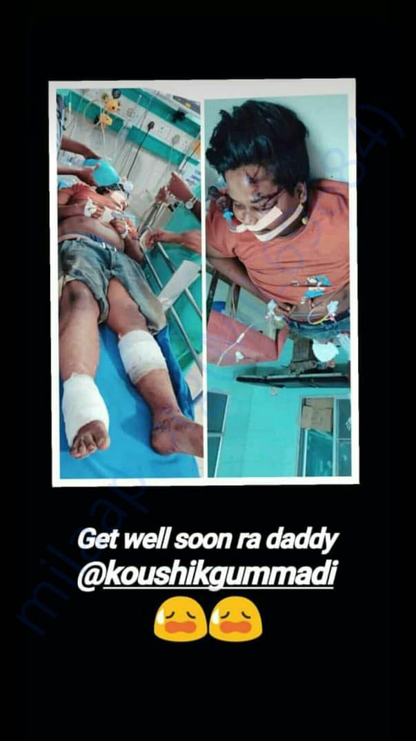 Plz help us he meet with an accident and he is in dangerous situation