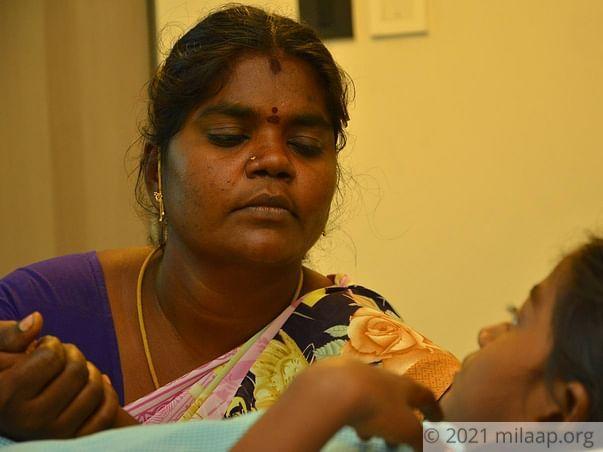 Vishalini  needs your help to fight Cardiac problem