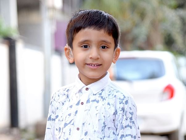Help little Krushna to HearThe World