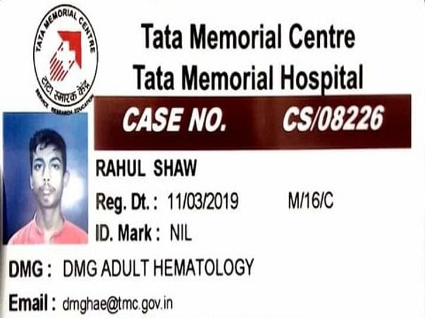 Help Rahul Fight Cancer
