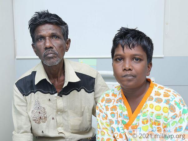 Madaswamy needs your help to undergo his treatment