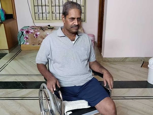 Janardhana lost his leg and need your help to walk again