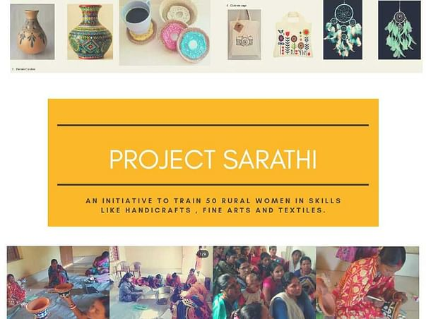 Contribute for Project Sarathi : Women Empowerment Initiative