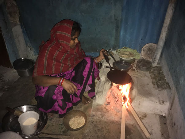 Biogas Revolution for RuralWomen in Bihar to prevent from killer smoke