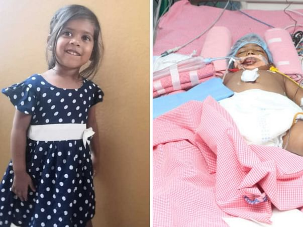 Eshitha needs your help to undergo her treatment