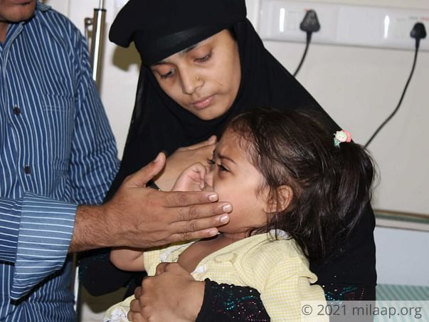 Sumaiya needs your help to undergo her treatment