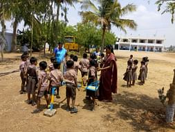 Help Hema to educate Poor children in her school in a village