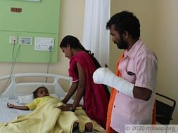 Baby Hima Bhai needs your help to undergo treatment