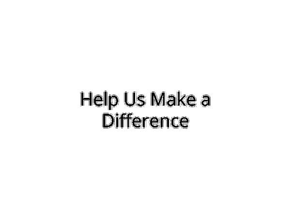 Help Us Educate Children