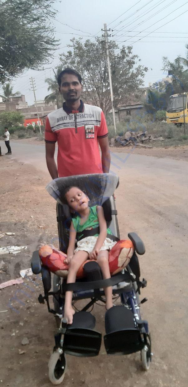 Samarth with CP200 chair..
