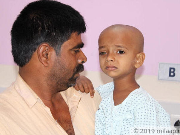 Polio-affected Farmer Cannot Afford To Save His 4-year-old From Cancer