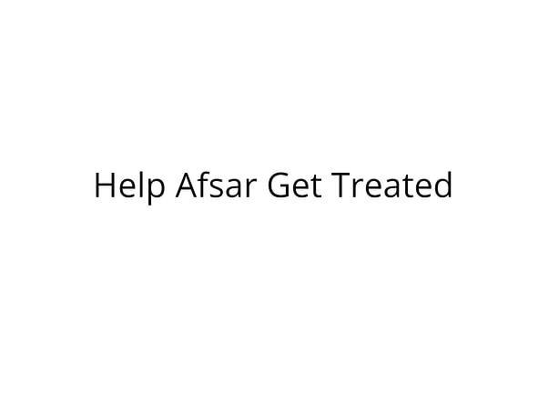 Help Afsar Fight Cancer8639641496
