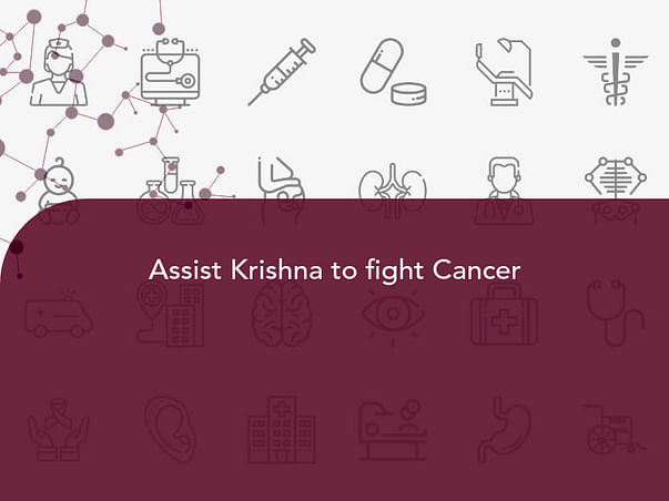 Assist Krishna To Fight Cancer