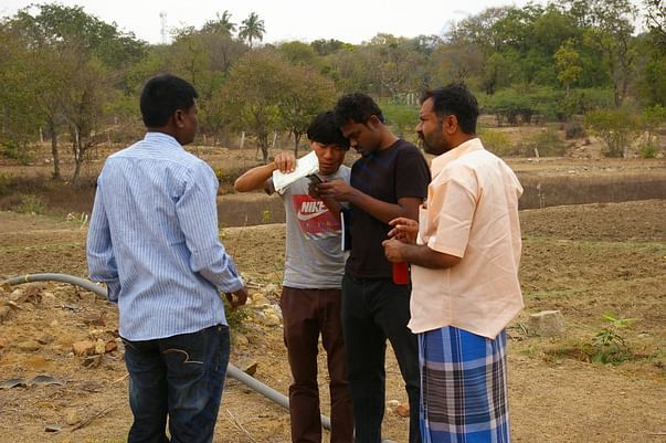 Discussion with local farmers