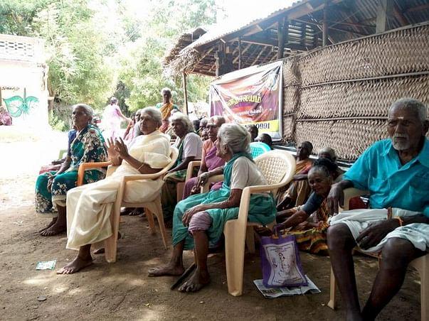 Support Meenakshi Sundaram Feed Old People