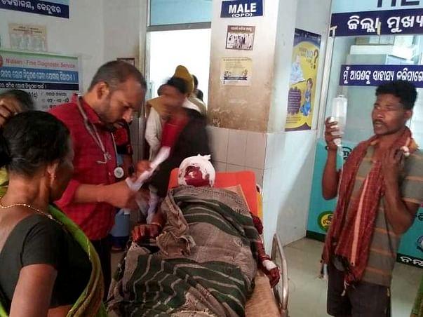 For Health Check Up Campaign In Karakhendra Panchayat