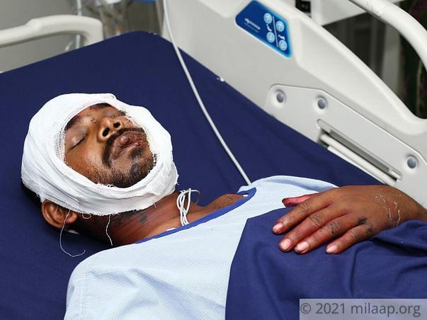 Kunu Kandi needs your help to cure his injury