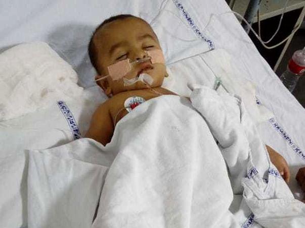 Md Ahaan (7 months) old boy need urgent Liver transplant