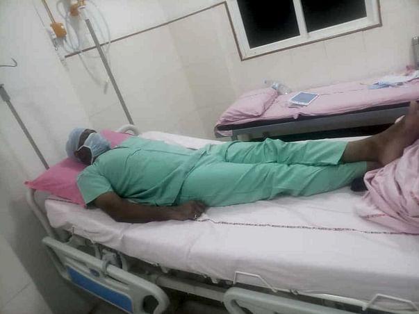 Help Srinivasu Fight Cancer