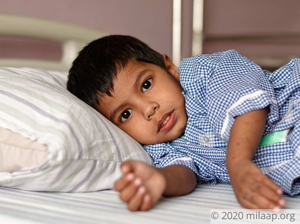 1-Year-Old Abandoned By Father Needs Help To Fight Heart Disease