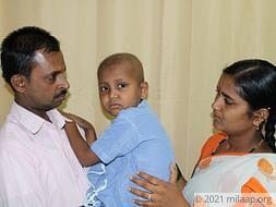 Help Sandeep to undergo his treatment