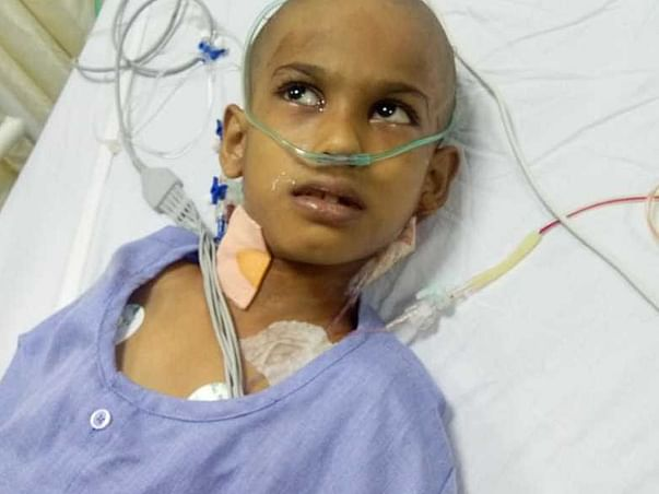 Help 8 Year Old Adnan Undergo A Brain Operation