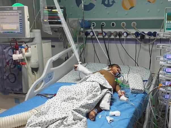 Help Riyaansh to recover from pneumonia