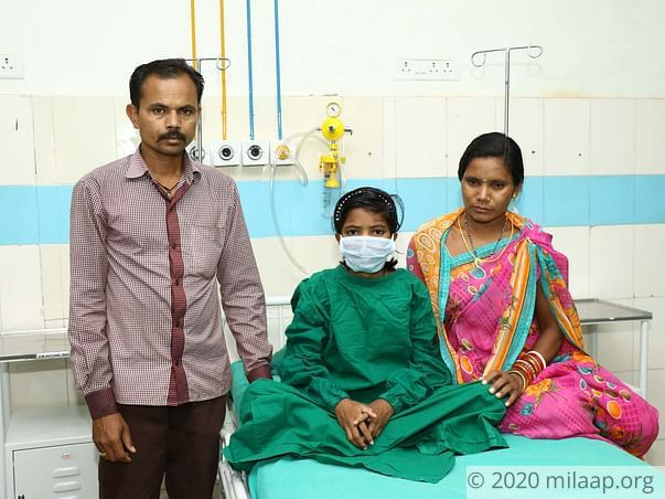 Naina Majhi needs your help to fight Blood Cancer