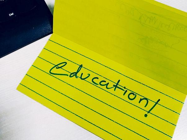 Seeking help for educational aid