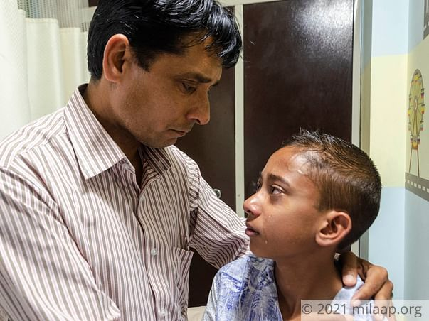 Anunay Mishra needs your help to fight disease