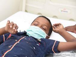 Vijay Logeshwaran needs your help to fight disease