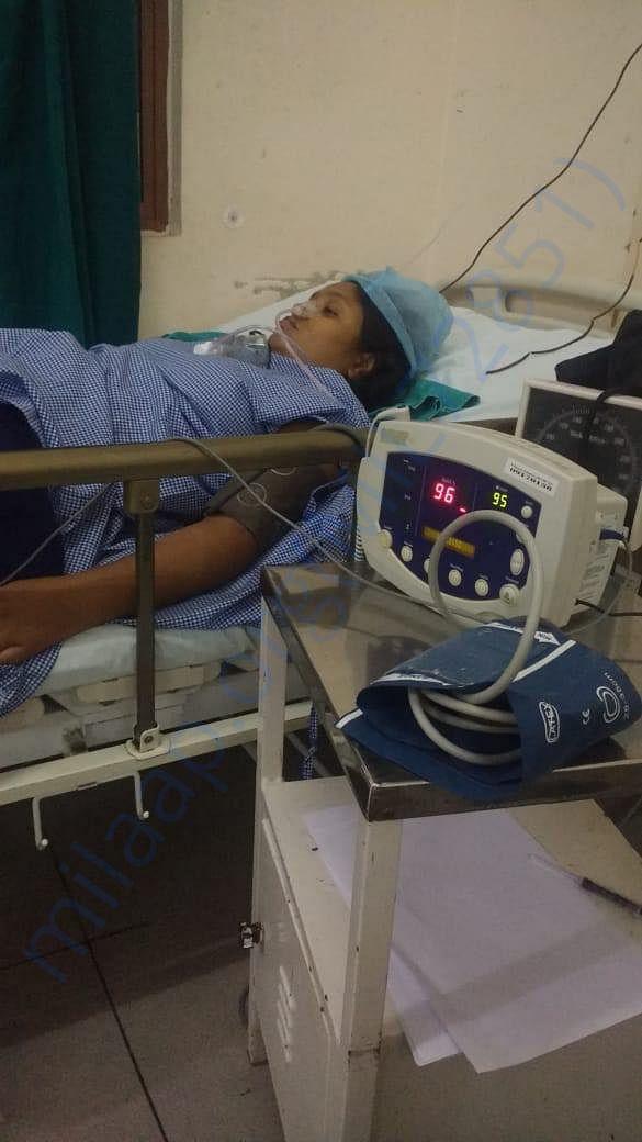 ICU image of Anjana Devi