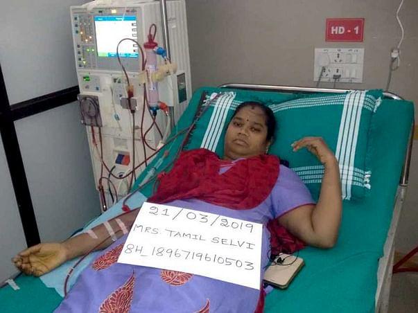 Help Tamil Selvi for kidney transplantation