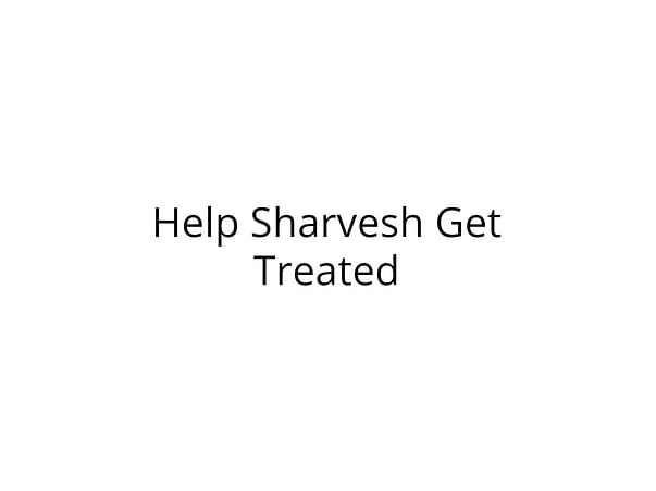 Please help Sharvesh baby