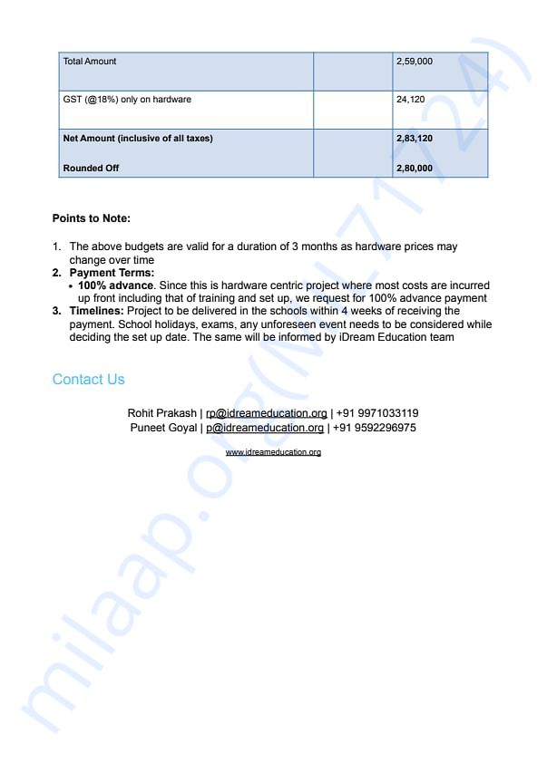Proposal for 20 Tablets Page 2