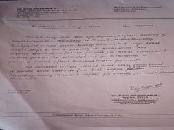 KIDNEY TRANSPLANTATION FOR SIJI SURESH (MOTHER)