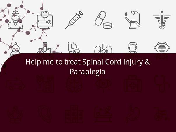 Help me to treat Spinal Cord Injury & Paraplegia