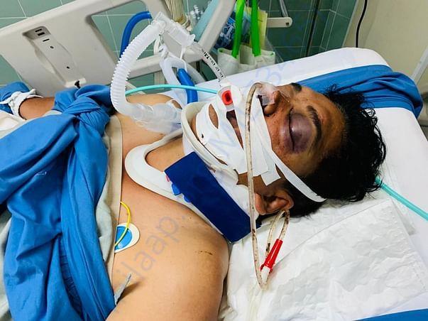 Manoj Joshi who met serious accident in PATAYA Thailand