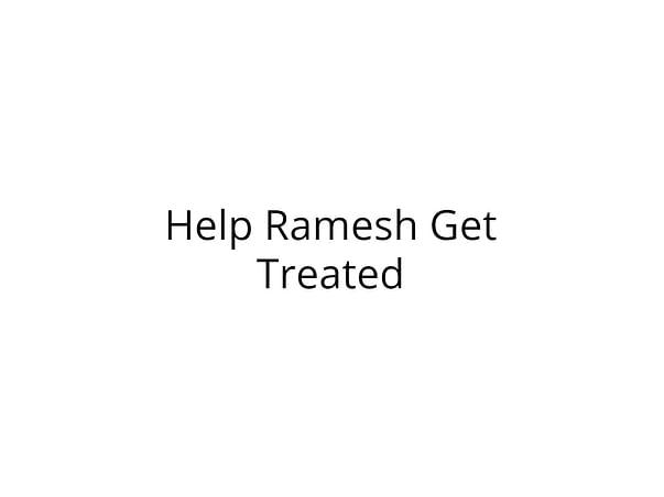 Help Ramesh Undergo Surgery