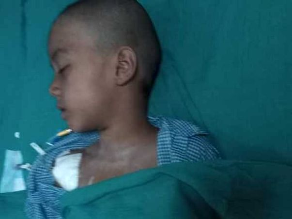 Help Family of Akbar, who met with an accident.