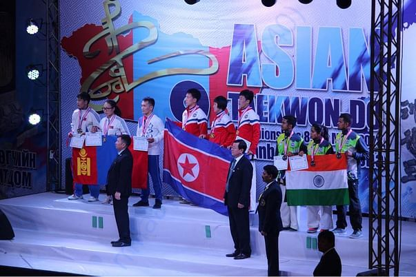 9th Asian Taekwon-Do Chmapionship held at Mangolia on May 8th, 20018