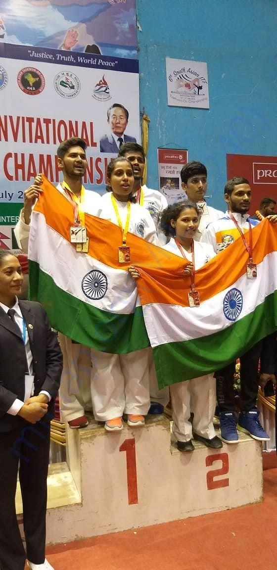 6th South Asian Invitational Taekwon-Do Championship held at Katmondu
