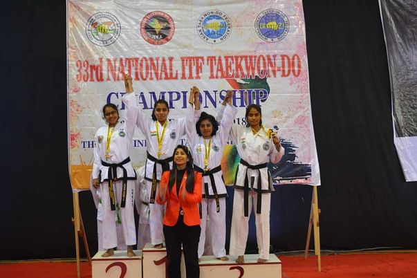 Gold Medal in Individual Event.