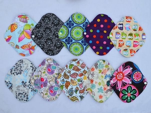 Save Earth - Use and Throw Cloth Sanitary Pad