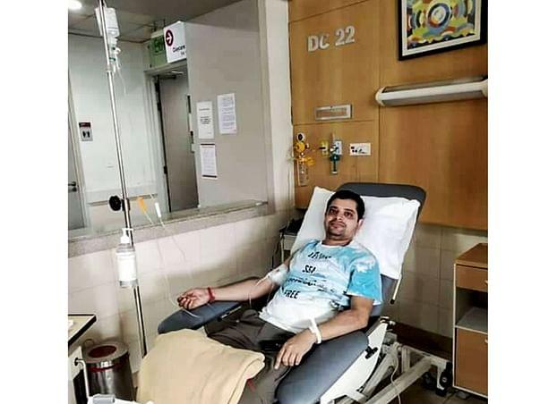 Help Sandip To Fight Cancer