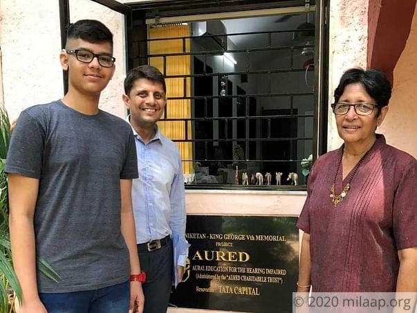 Help Aashil Hear Again